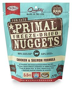 Primal Pet Foods FreezeDried Feline Chicken and Salmon Formula 55 oz ** Want additional info? Click on the image.