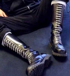 Dr. Martens, Mens Tall Boots, Skinhead Boots, Skin Head, Leather Men, Combat Boots, Guys, Shoes, Lace