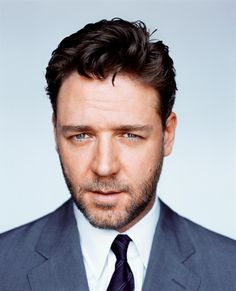 Russell Crowe (Russell Ira Crowe) (born in Wellington (New Zealand) on April 7, 1964)