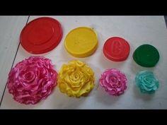 Flor de gorgurão para por no elástico de viés (parceria com www.arteecorloja.com.br ) - YouTube
