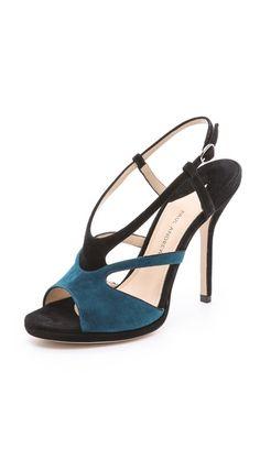 Paul Andrew Agadir Strap Heeled Sandals