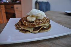 : american style breakfast pancakes