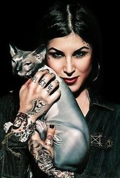 Kat Von D is one of the biggest inspirations I have come across. Her way of life and personality has truly taught me to chase after my dreams and to never change for anyone. The greatest beauty is being comfortable enough to be myself and to love my imperfections.