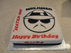 'Low Rider' Birthday Cake