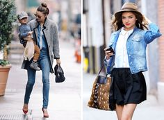 Miranda Kerr has great laid back style