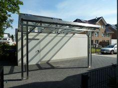 steel carport, modern - Google Search