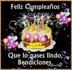 SUEÑOS DE AMOR Y MAGIA: Feliz Cumpleaños