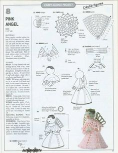 More angels on FB 2 Free Pattern More Pattern Christmas Charts, Crochet Christmas Ornaments, Christmas Crochet Patterns, Holiday Crochet, Christmas Angels, Christmas Poinsettia, Crochet Fairy, Crochet Angels, Diy Crochet