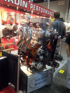 Hardin Performance was at the opening day of the 2012 PRI.