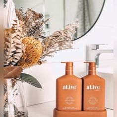 JUST LANDED - massive congratulations to @alisa_lysandra for launching your new wash & lotion 'al.ive body' range!  About al.ive body... As interior designers, aesthetic yet highly functional design is the primary focus of all our interior transformations. It's our belief that our surroundings largely define the way that we feel, and consequently shape the quality of our daily lives.  Integrating this ethos with our desire to live a more conscious lifestyle was at the top of our agenda when… Lotion, Congratulations, Bathrooms, Designers, Product Launch, Packaging, Range, Shapes, Table Decorations