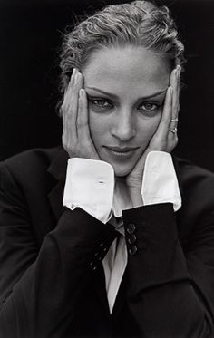 Uma Thurman by Peter Lindbergh for Esquire