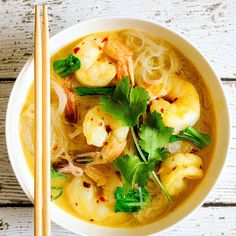 A streamlined way to get this fantastic noodle soup on the table. It's low on prep and big on flavour.