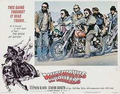 Werewolves on Wheels lobbycards