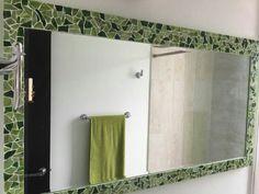 Espejo en vitromosaico. Decoracion para baño