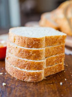 Soft and Fluffy Sandwich Bread | Averie Cooks - The best bread ever. It just happens to be vegan and healthier than most!