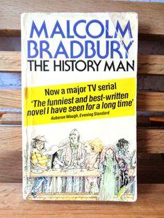 Vintage paperback The History Man Malcolm Bradbury fiction novel romance sex erotic love story university 1970s social society sociology by TrooperslaneBooks on Etsy