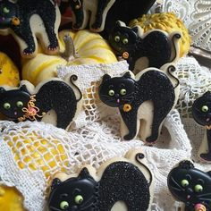 Black cats by Teri Pringle Wood