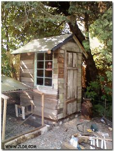 The finished reconstruction of the Puyallup, WA Outhouse