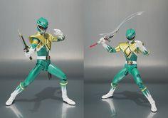 Action Figure Spotlight Mighty Morphin' Power Rangers Green Ranger S.H. Figuarts Action Figure (2)