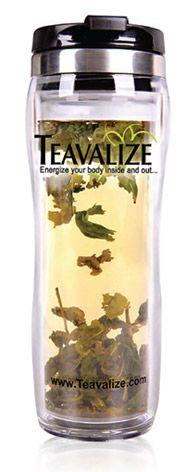 Take your loose-leaf tea to go! #Drink #Tea http://www.organicspamagazine.com/2011/09/tea-time-2/#
