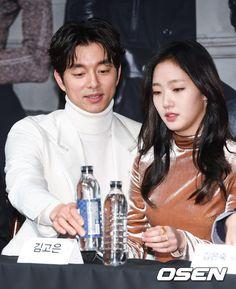 Gong Yoo. Lee Dong Wook. Kim Go Eun. Yoo In Na. Yook Sung Jae tvN Drama 'Goblin' Press Conference 22 November 2016