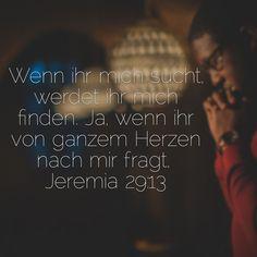 Jeremia 29, 13