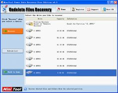 How to recover files, especilly system backup files? Use data recovery software.