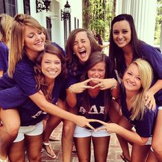 ADPi at Georgia Southern on Value's Day! My sisters are famous!