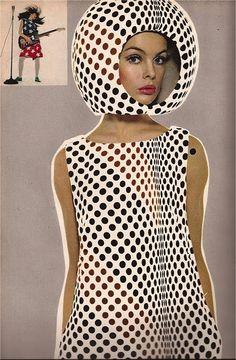 "Jean Shrimpton in a very Mod Look. Harper's Bazaar, April Photographer: Richard Avedon. Model: Jean Shrimpton (""The Shrimp""). Jean Shrimpton, Richard Avedon, Sixties Fashion, Retro Fashion, Vintage Fashion, Sporty Fashion, Ski Fashion, Fashion Art, Trendy Fashion"