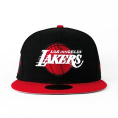 Los Angeles Lakers Black   Red (Gray Under) 59fifty. Lakers HatHip Hop  OutfitsNew Era CapSnap ... 0be50858173