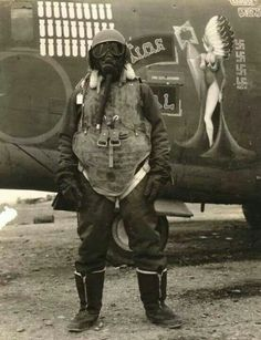 Airgunner, 1943. I'm almost pinning this because of the plane art.