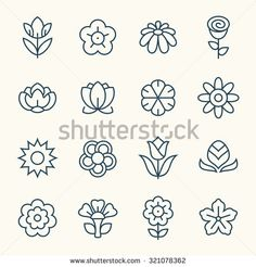 Find Flowers Thin Line Icon Set stock images in HD and millions of other royalty-free stock photos, illustrations and vectors in the Shutterstock collection. Thousands of new, high-quality pictures added every day.