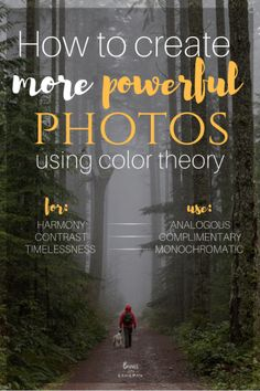 Ever wonder why it feel like your photos are missing something? We're about to share a little trick to help you create more powerful photos using co… – Photoshop How To Photography Tips – Fotografie Dslr Photography Tips, Photography Tips For Beginners, Photography Lessons, Photoshop Photography, Photography Tutorials, Creative Photography, Digital Photography, Amazing Photography, Portrait Photography