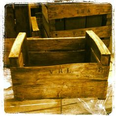 French apple crates arrive in Curious Wines Wine Pics, Apple Crates, Wines, French, Texture, Wood, Crafts, Surface Finish, Manualidades