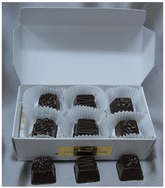 Sasquatch Asst Sugar Free Chocolate Caramels (dk)