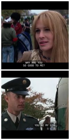 """""""I'll always be your girl..."""" Forrest Gump and Jenny"""