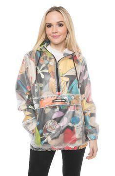 Windbreaker Jacket, Hooded Jacket, Members Only Jacket, Denim Jacket Fashion, Summer Jacket, Spring Jackets, Half Zip Pullover, Rain Wear, Black Media