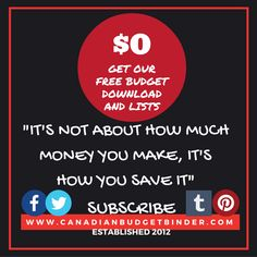 MANY FREE LISTS T KEEP YOU ORGANIZED 24/7-IT'S NOT ABOUT HOW MUCH MONEY YOU MAKE, IT'S HOW YOU SAVE IT(1)