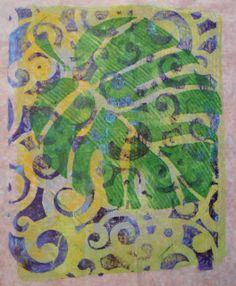 Gelli Mono Prints | Adventures With Paint