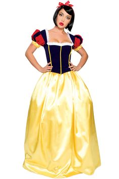 Deluxe Snow White Princess Costume