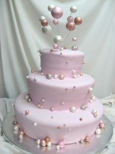 Pearl Cake Decor Idea Minus Top..