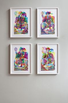 carnovsky design of italy has created these UNBELIEVABLE prints using RGB...also the wallpaper is only to dream of...go find the exhibition!