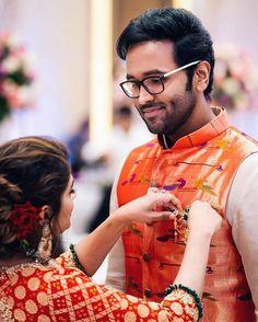 Rekha Saree, 10th Wedding Anniversary, Nehru Jackets, Indian Designer Wear, Matching Outfits, Silk Sarees, Photoshoot, Couple Photos, Couples