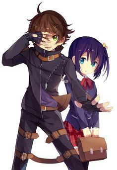 Yuuta & Rikka | Chuunibyou