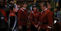 "Star Trek VI: The Undiscovered Country. Captain Spock: ""There is an old Vulcan proverb: only Nixon could go to China."" #startrek"