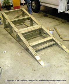 Wheelchair ramp, Wheelchairs and How to build on Pinterest