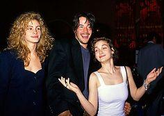 Julia Eiberts, Keanu Reeves and Winona Ryder
