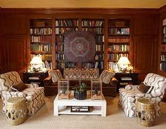 Exotic Prints in a Library