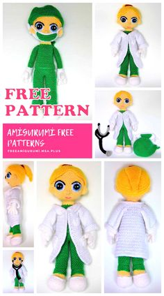 We share the latest free patterns with Amigurumi with you. In this article, amigurumi female doctor free crochet pattern is waiting for you. Crochet Patterns Amigurumi, Amigurumi Doll, Diy Crochet, Crochet Baby, Female Doctor, Yarn Needle, Yarn Colors, Stuffed Toys Patterns, Baby Patterns