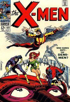 X-Men #49 Classic Steranko cover (1969)